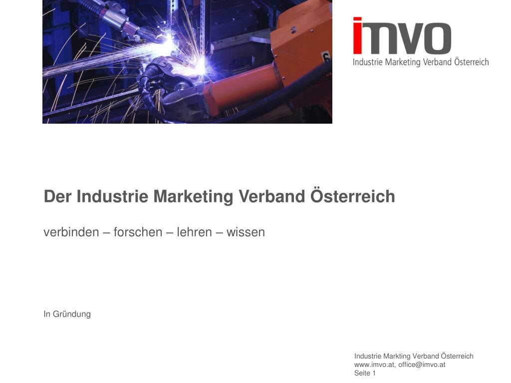der industrie marketing verband sterreich l.