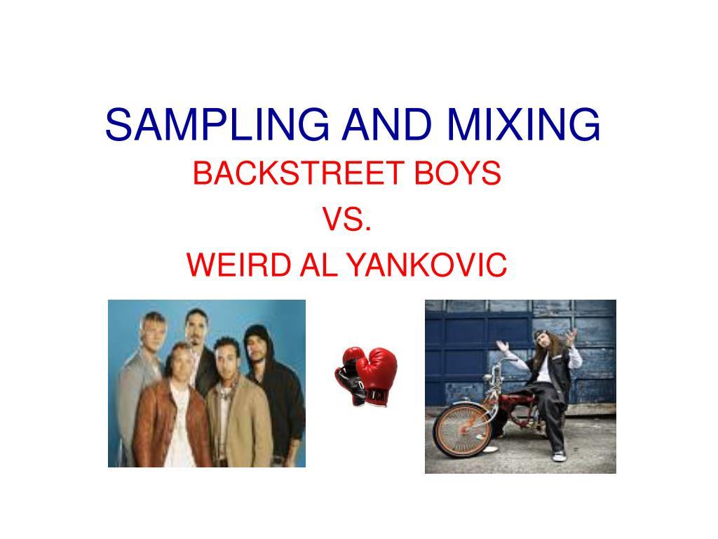 sampling and mixing l.