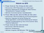 historie von qfd