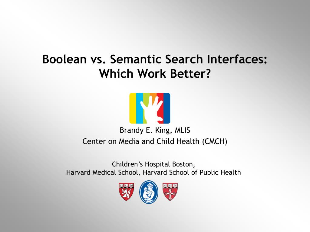 boolean vs semantic search interfaces which work better l.