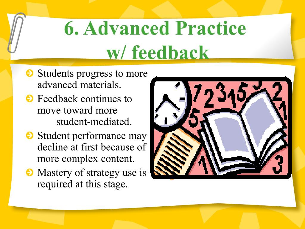 6. Advanced Practice