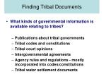 finding tribal documents10