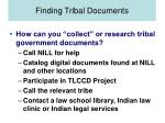 finding tribal documents13