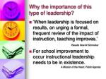 why the importance of this type of leadership10