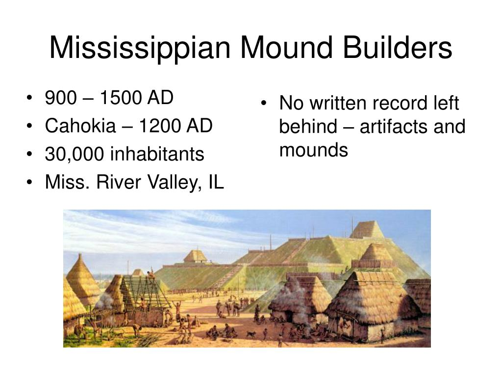 mississippian mound builders l.