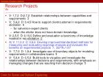 research projects vc