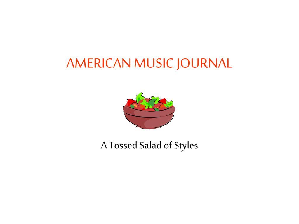 american music journal l.