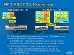 pci sig iov overview