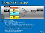 today s pci device