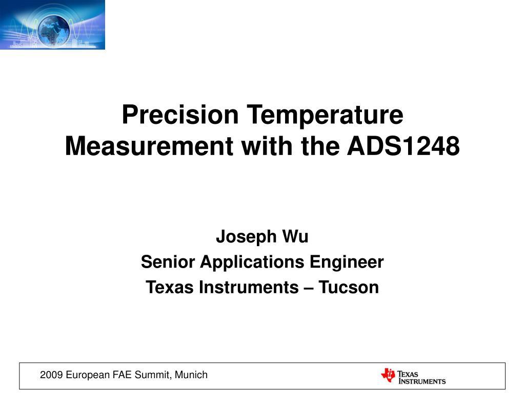 joseph wu senior applications engineer texas instruments tucson l.