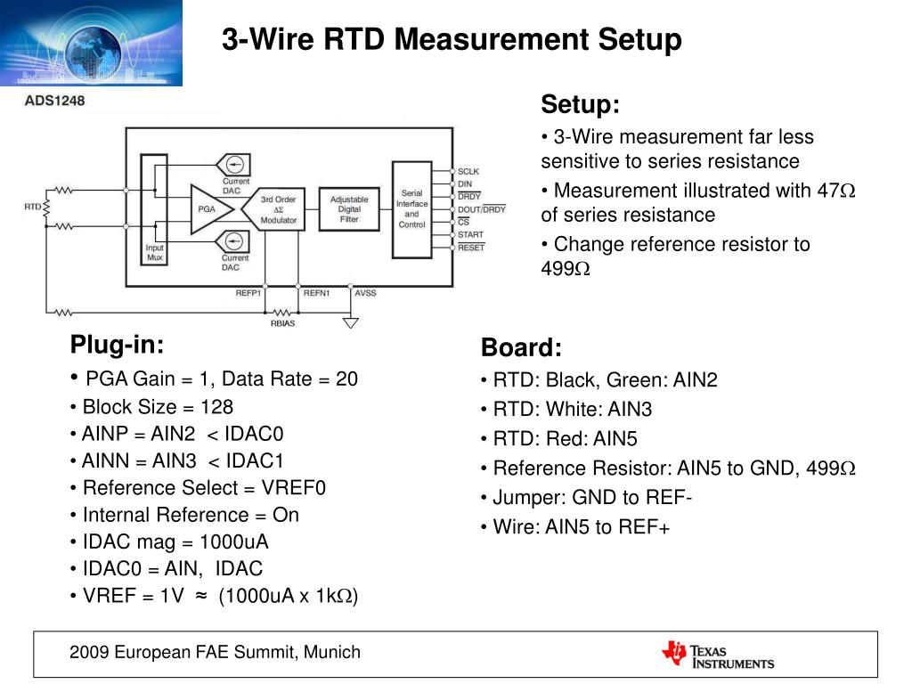 3 Wire Rtd Resistance Tables on 3 wire rtd lead balance