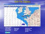 grib file display