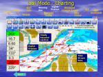 sail mode charting