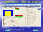 targets screen beating or running