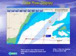 tidal flow display