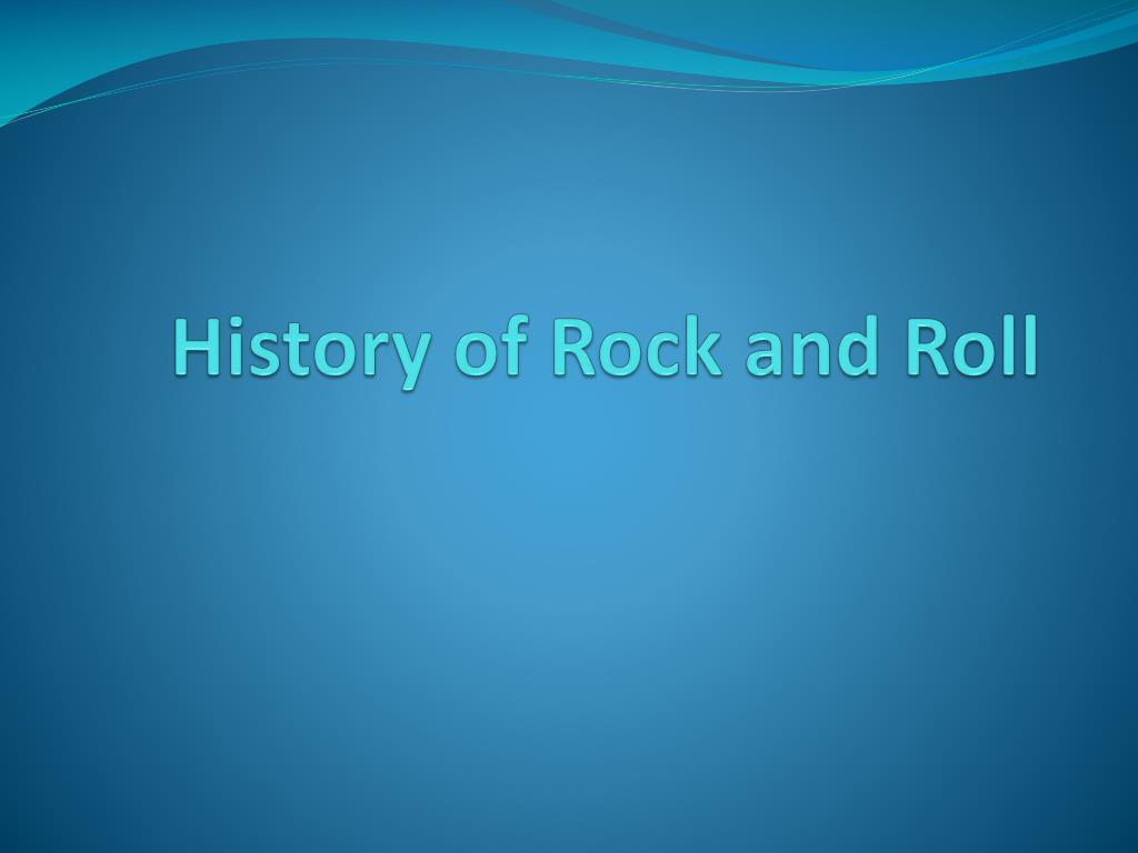 history of rock and roll l.