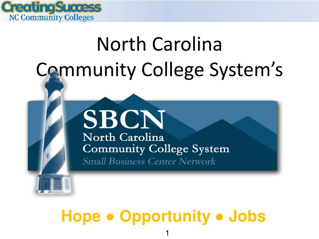 north carolina community college system s l.