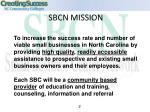 sbcn mission