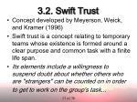 3 2 swift trust
