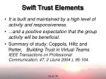 swift tru st elements