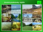 ivotn podmienky rastl n vodn prostredie suchozemsk prostredie