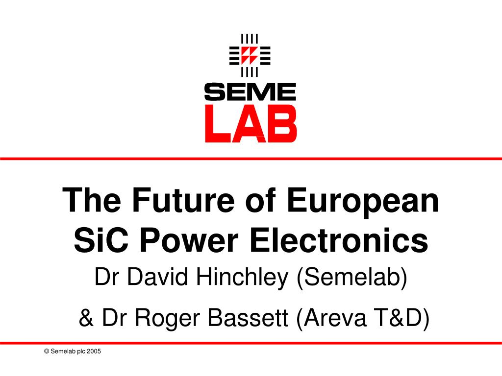 the future of european sic power electronics l.