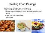 riesling food pairings