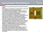 key technology electroplating 2