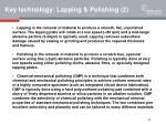 key technology lapping polishing 2
