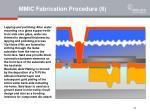 mmic fabrication procedure 6