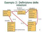 esempio 2 definizione delle relazioni38