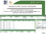 services et are gestion individuelle23