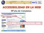 accesibilidad en la web20