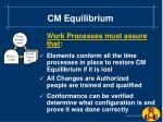 cm equilibrium7