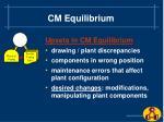 cm equilibrium9