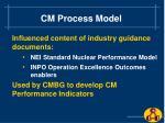 cm process model20