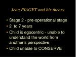 jean piaget and his theory9