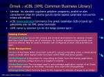 rnek xcbl xml common business library