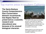 top marine areas in southern california