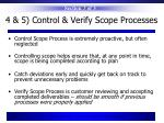 4 5 control verify scope processes