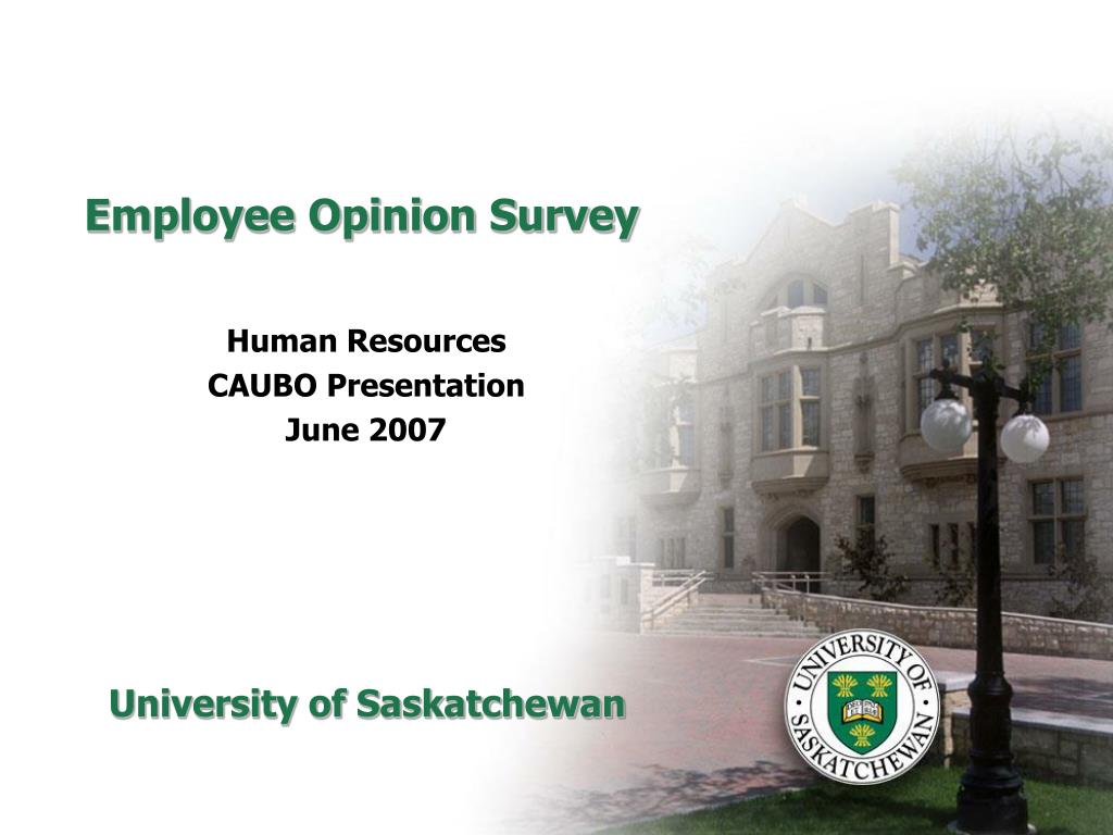 employee opinion survey l.