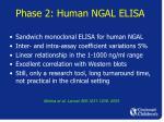 phase 2 human ngal elisa