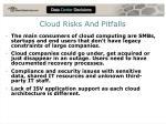 cloud risks and pitfalls
