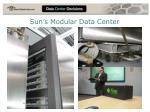 sun s modular data center