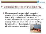 4 continuous classroom progress monitoring
