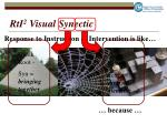 rti 2 visual synectic