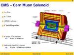 cms cern muon solenoid