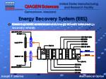 energy recovery system ers