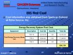 ers first cost