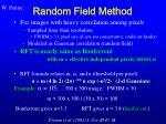 random field method